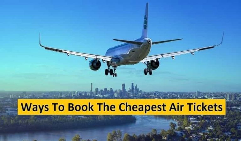Ways To Book The Cheapest Air Tickets