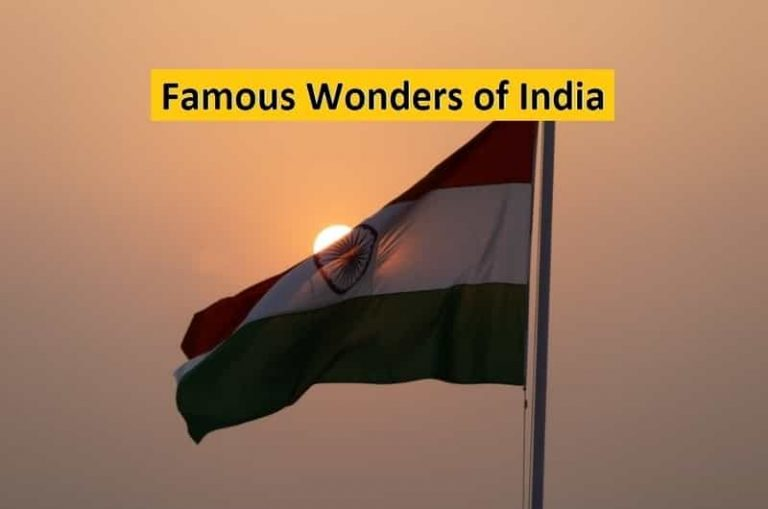Top 10 Famous Wonders of India