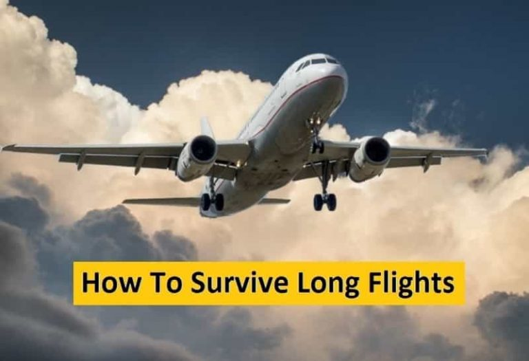 How To Survive Long Flights Without Being Exhausted